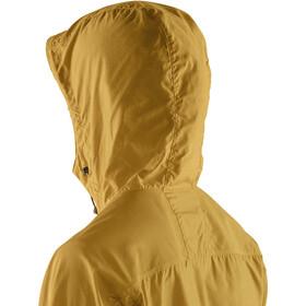 Fjällräven High Coast Chaqueta Cortavientos Mujer, amarillo